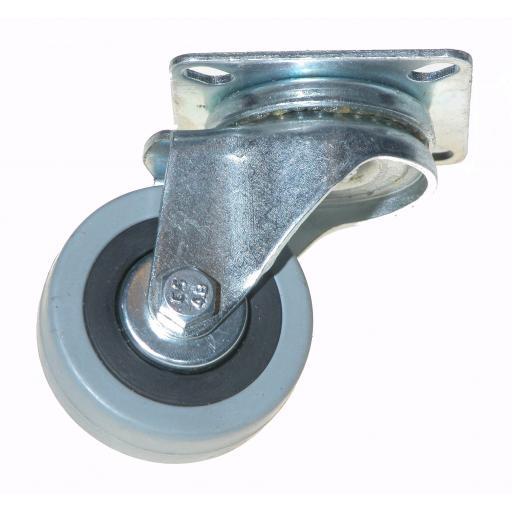 Industrial Castors 50mm Swivel Rubber Wheel