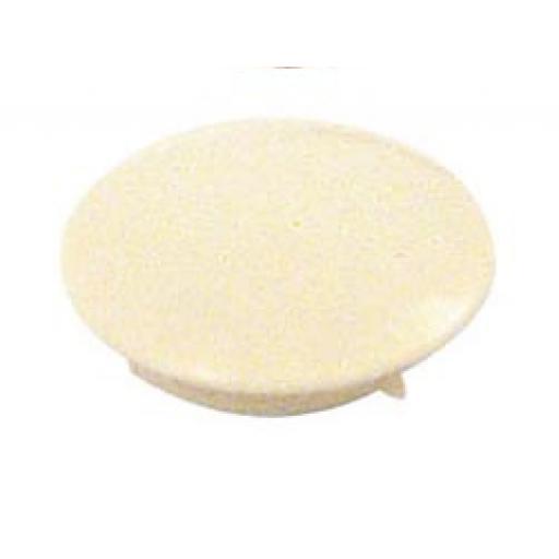 50 Cover Caps 10mm diameter White plugs holes trim blank kitchen cabinet