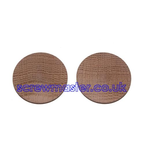Solid Ash Cover Cap for 35mm hinge hole trim blanking plate