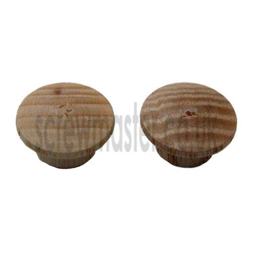 10 wooden hole plugs ASH 10mm diameter cover caps