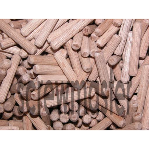 100 Fluted Dowels 5mm x 30mm beech hardwood jointing crafts