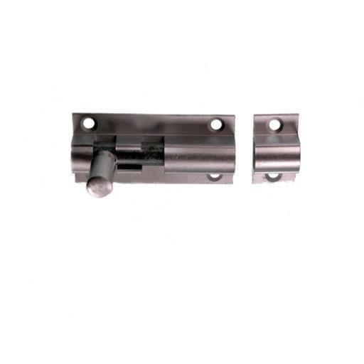 Aluminium Barrel Bolt straight 38mm