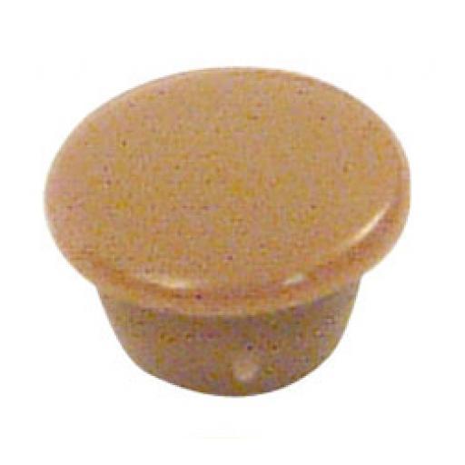 50 Cover Caps 8mm diameter Light Brown plugs holes trim blank kitchen cabinet