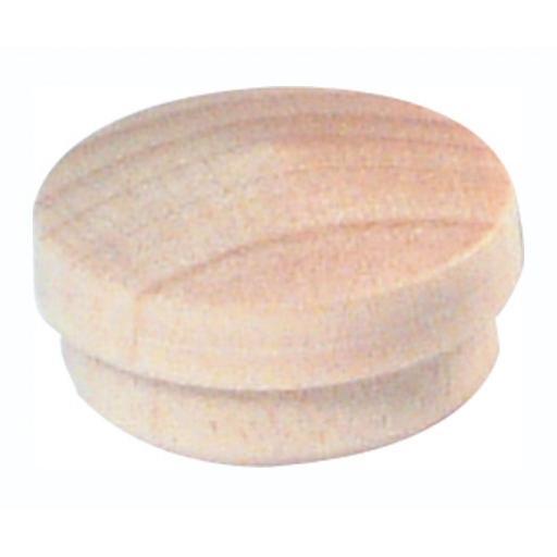 10 PINE wooden hole plugs 15mm diameter cover caps