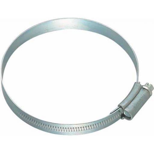 Ducting hose clip 60mm to 165mm jubilee